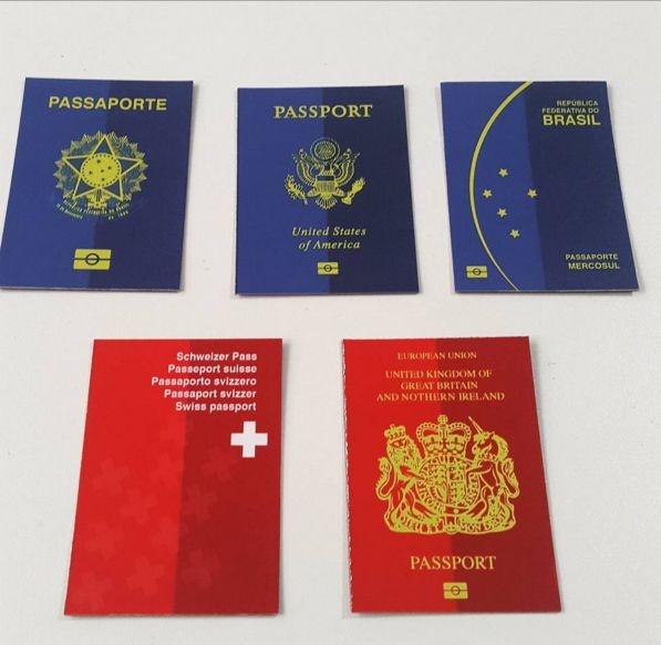 Kit Imãs Passaportes