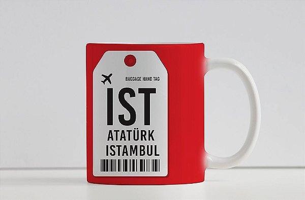 Caneca Aeroporto IST - Ataturk, Istambul - Turquia