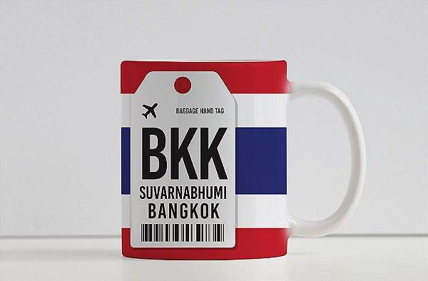 Caneca Aeroporto BKK, Survarnabhumi - Bangkok, Tailândia