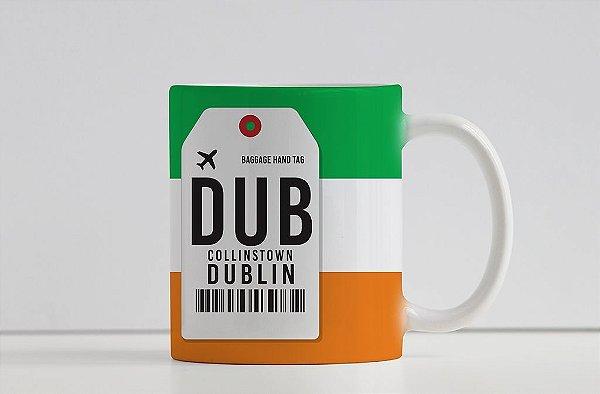 Caneca Aeroporto DUB Collinstown- Dublin, Irlanda