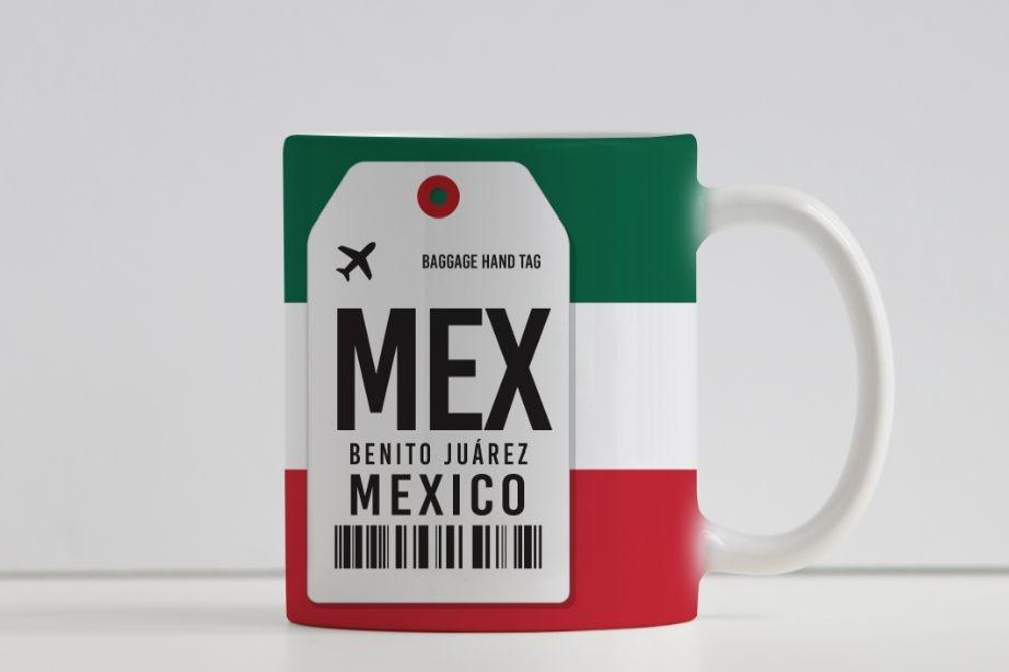 Caneca Aeroporto MEX - Benito Juárez - Cidade do México, México