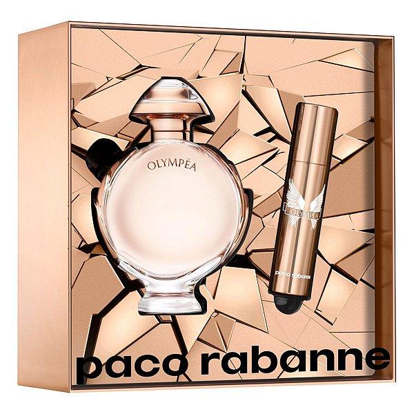 Kit Olympéa Eau de Parfum 80ML Paco Rabanne + Miniatura 10ML