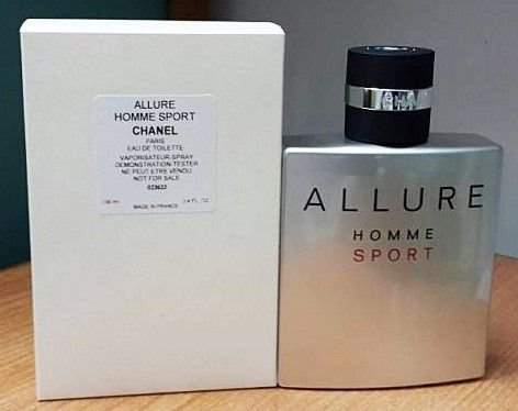 Tester Allure Homme Sport Chanel Eau de Toilette - Perfume Masculino 100ml