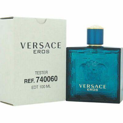 Tester Versace Eros Versace - Perfume Masculino - Eau de Toilette 100ml