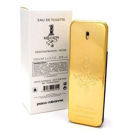 Téster  One Million Eau de Toilette Paco Rabanne - Perfume Masculino 100 ML