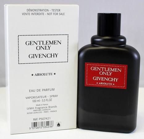 Tester Gentlemen Only Absolute Eau de Parfum  Givenchy - Perfume Masculino 100ml