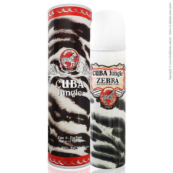 Cuba Jungle Zebra Women Eau de Parfum - Perfume Feminino 100ml