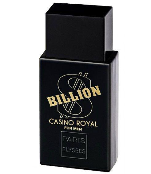 Billion Cassino Royal For Men Eau de Toilette Paris Elysees - Perfume Masculino 100 ML