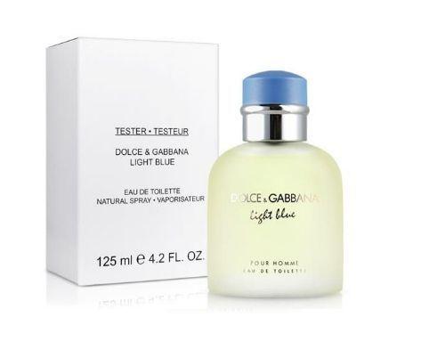 Tester Light Blue Pour Homme Eau de Toilette Dolce&Gabbana - Perfume Masculino 125 ML