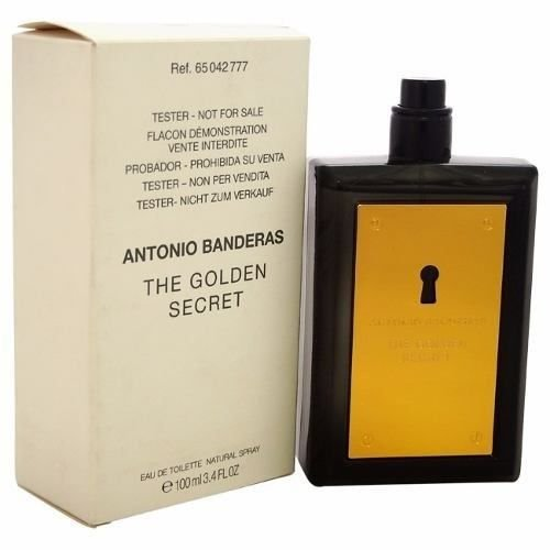Tester The Golden Secret Eau de Toilette Antonio Banderas - Perfume Masculino 100 ml