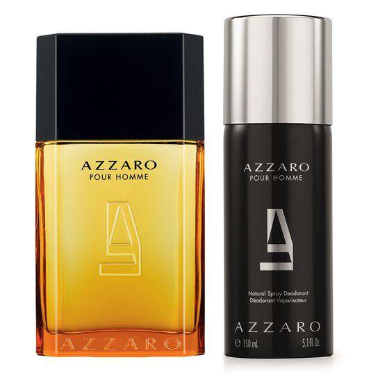 Perfume Azzaro Pour Homme EDT 100 ml + Azzaro Body Spray Pour Homme 150 ml
