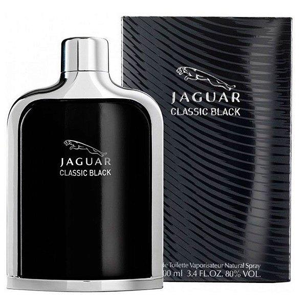 Jaguar Classic Black Jaguar - Perfume Masculino - Eau de Toilette 100 ml