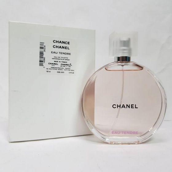 Tester Chance Eau Tendre Eau de Toilette Chanel - Perfume Feminino 100 ML