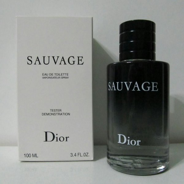 f777af651d Tester Perfume Dior Sauvage Masculino Eau de Toilette 100ml ...