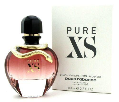 Tester Pure XS For Her Paco Rabanne - Perfume Feminino Eau de Parfum 80ml