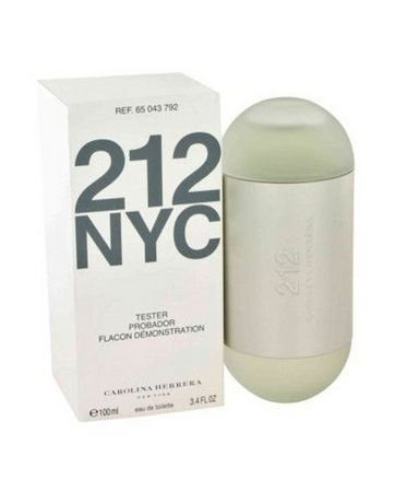 Téster 212 NYC Carolina Herrera  Eau de Toilette - Perfume Feminino 100 ML