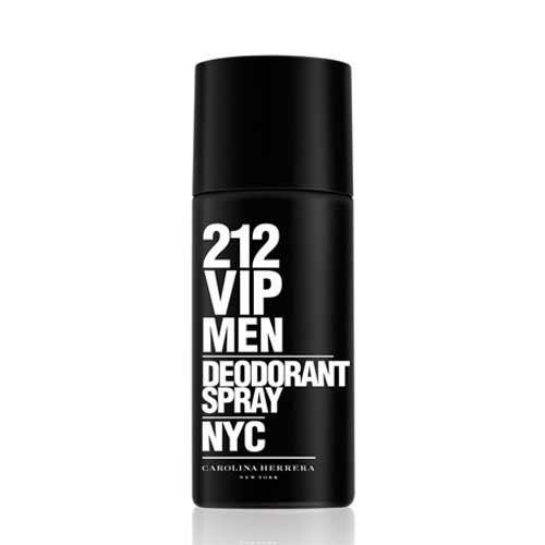 Desodorante 212 Vip Men Carolina Herrera - Desodorante  Masculino 150 ml