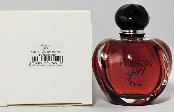 Tester Poison Girl Eau de Parfum Dior - Perfume Feminino 100 ML