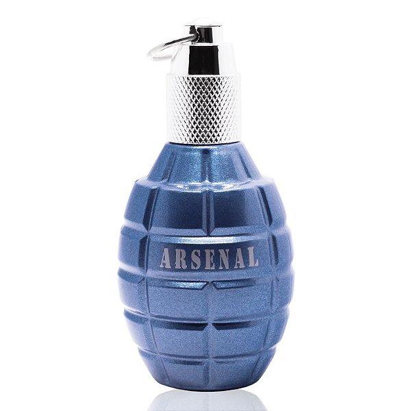 Arsenal Blue Homme Gilles Cantuel - Perfume Masculino - Eau de Parfum - 100ml