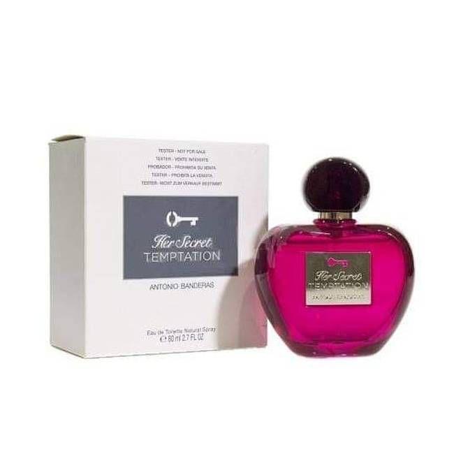 Tester Her Secret Temptation Eau de Toilette Antonio Banderas - Perfume Feminino 80ml