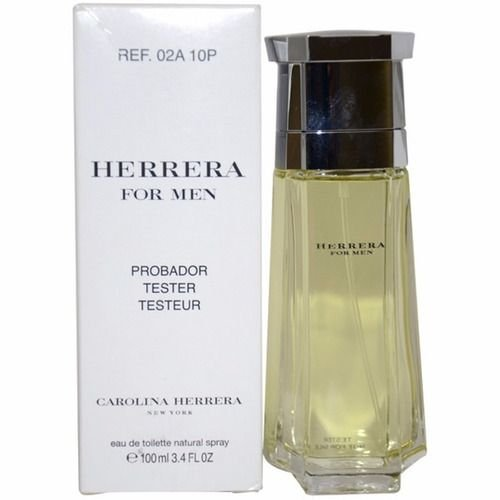 Tester Herrera For Men Carolina Herrera - Perfume Masculino - Eau de Toilette - 100ml