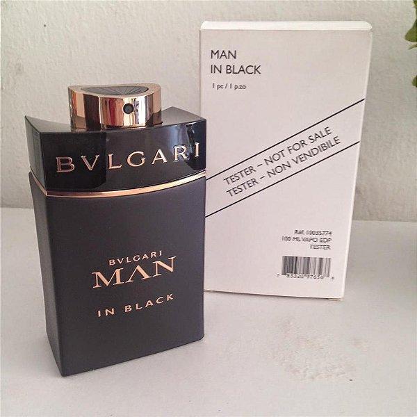 5f099b3ad088c Téster Bvlgari Man In Black Eau de Toilette Bvlgari - Perfume Masculino 100  ml