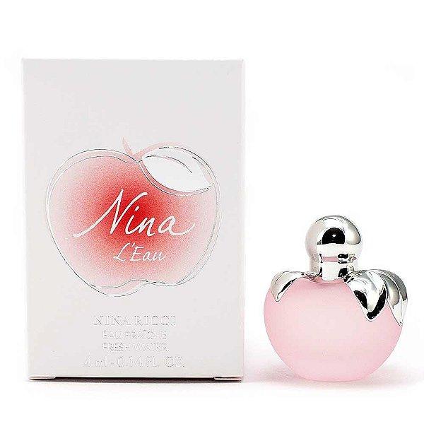 Miniatura Nina L'Eau De Ninna Ricci Perfume Feminino Eau Fraiche 4 ML