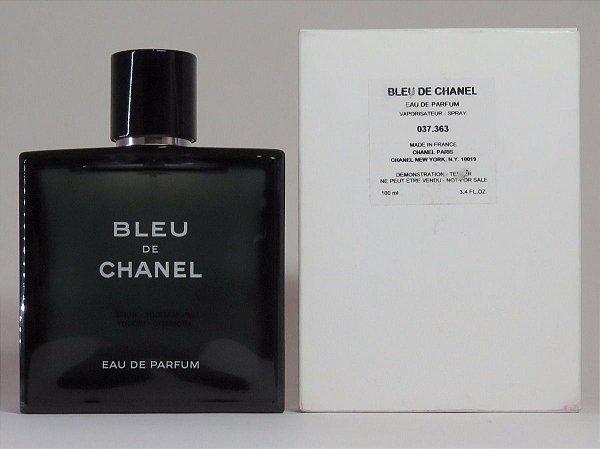7a6993efbc Téster Bleu de Chanel Eau de Parfum- Perfume Masculino 100 ML ...