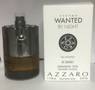 Tester Wanted by Night Azzaro Perfume Masculino - Eau de Parfum 100 ML