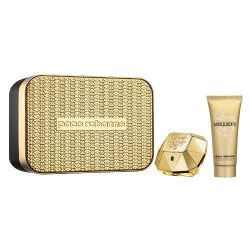 Paco Rabanne Lady Million Kit - Eau de Parfum + Loção Corporal