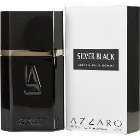 Miniatura Azzaro Silver Black Eau de Toilette - Perfume Masculino 7 ML