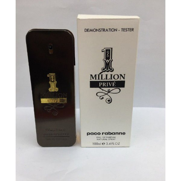 Tester One Million Privé Paco Rabanne Eau de Toilette - Perfume Masculino