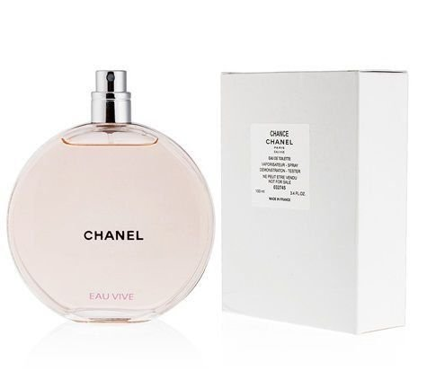 Tester Chance Eau Vive Eau de Toilette Chanel - Perfume Feminino 100 ml