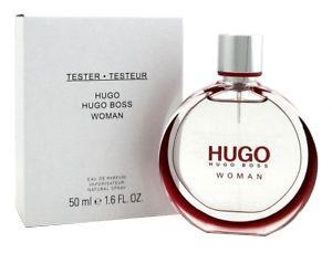 TESTER HUGO WOMAN EAU DE PARFUM HUGO BOSS - PERFUME FEMININO 50 ML