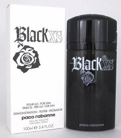Tester Black XS Paco Rabanne  Perfume Masculino Eau de Toilette 100 ml