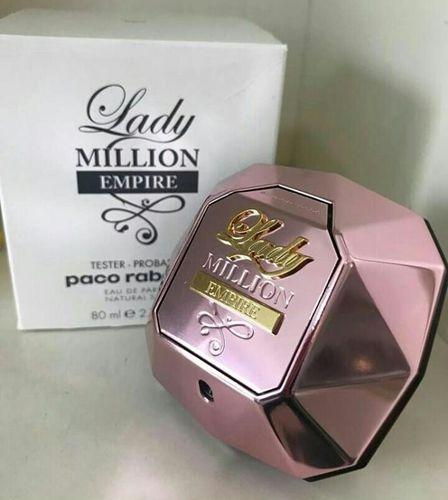 Tester Lady Million Empire Feminino Eau de Parfum-80ml