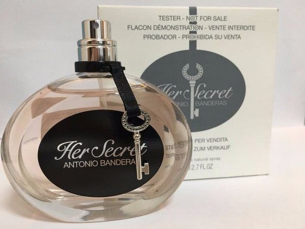 Téster Her Secret Antonio Banderas Eau de Toilette - Perfume Feminino 100 ML