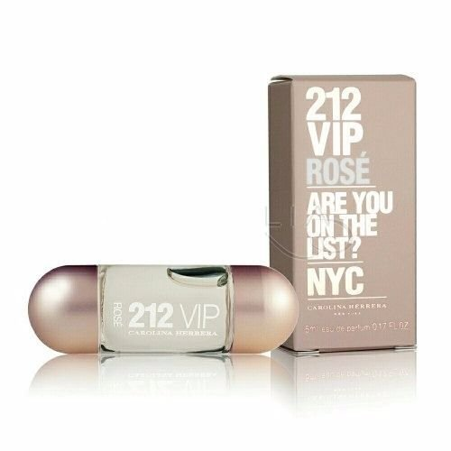 Miniatura 212 Vip Rosé Carolina Herrera Eau de Parfum - Perfume Feminino 5 ML