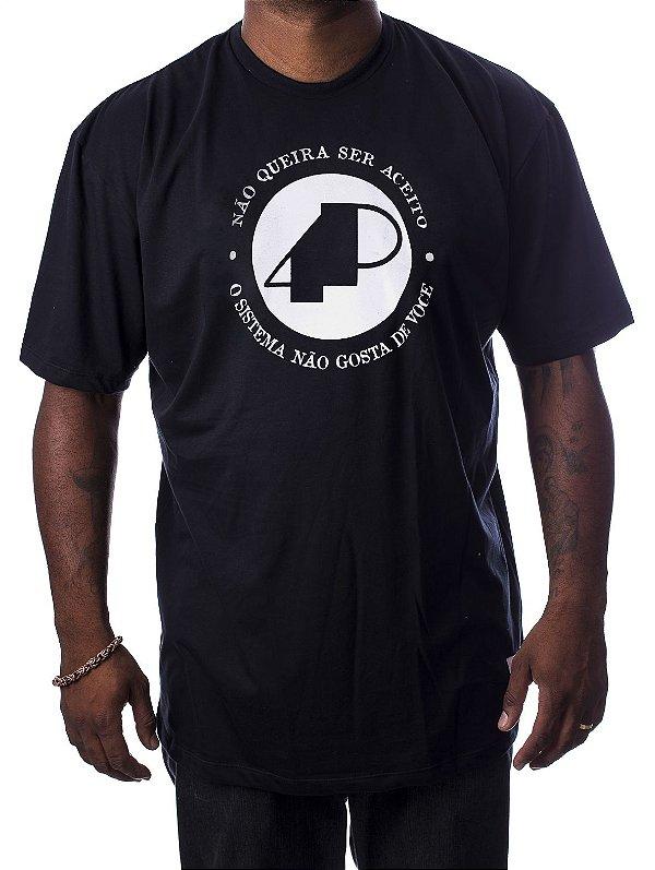 Camiseta Preta - NQSA Afronta