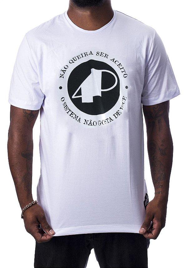 Camiseta Branca - NQSA Afronta