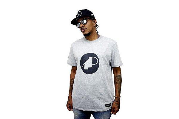 Camiseta Mescla Manga Curta 4P
