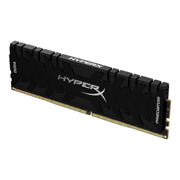 Memória 32GB DDR4 CL18 3600 Mhz KINGSTON HYPERX PREDATOR BLACK - HX436C18PB3/32 (1X32GB)