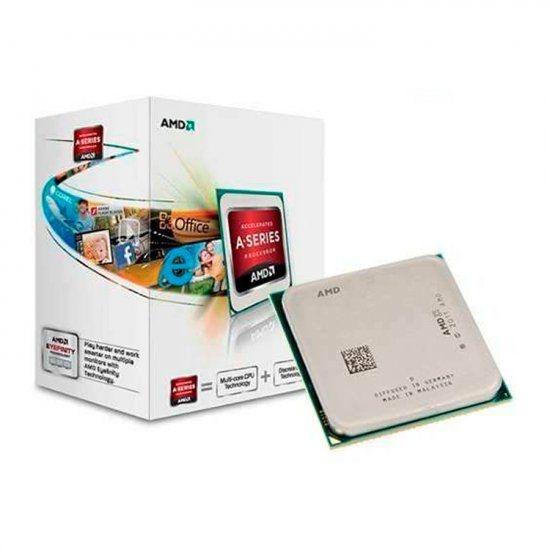 Processador AMD A4 7300 Dual Core 3.8 Ghz C/ 1Mb Cache FM2
