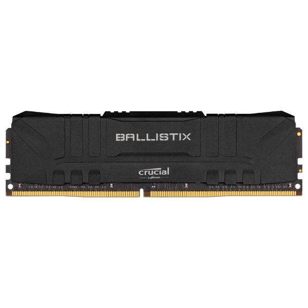 Memória Crucial Ballistix 8GB 2666 Mhz DDR4 CL16 BLACK - BL8G26C16U4B (1X8GB)