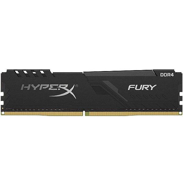 Memória P/ Desktop 8gb DDR4 - 2400 Mhz Kingston HyperX Fury - HX424C15FB3/8 (1X8gb)