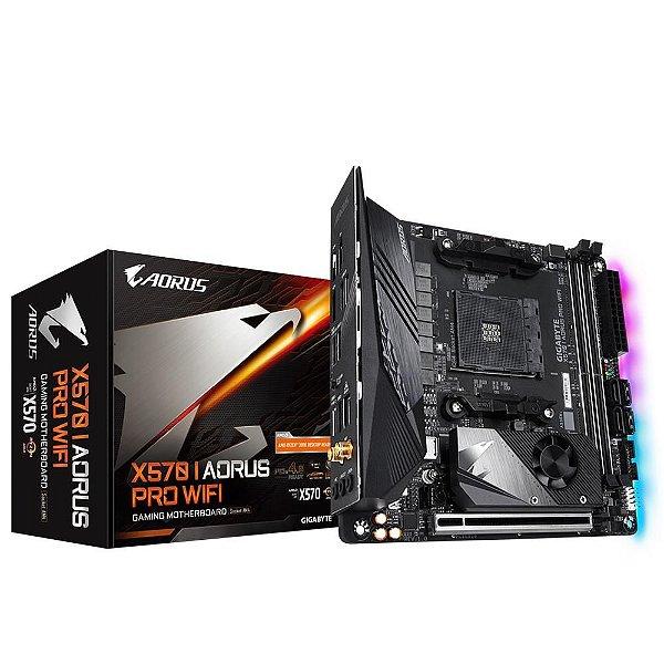 Placa Mãe GIGABYTE CHIPSET AMD X570 I AORUS PRO WIFI SOCKET AM4