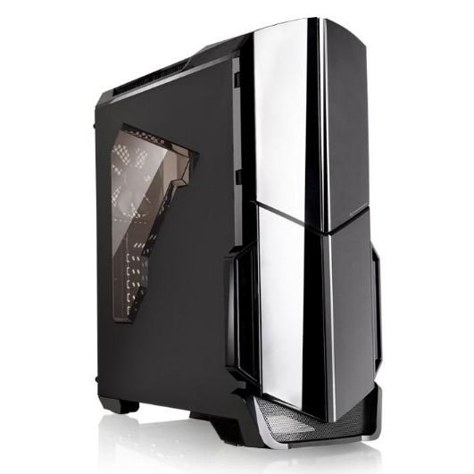 Gabinete ATX Gamer Thermaltake Versa N21 Black CA-1D9-00M1WN-00
