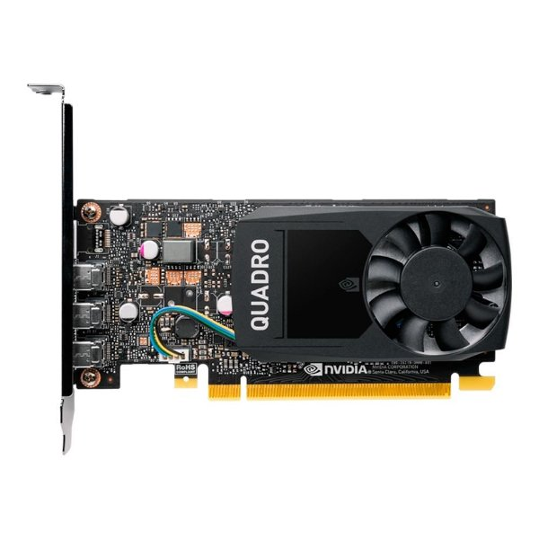 Placa de Vídeo PNY NVIDIA Quadro P400, 2GB, GDDR5 - VCQP400V2PB