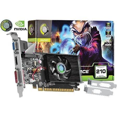 Placa de Vídeo Geforce GT 210 - 1gb DDR3 - 64 Bits Point of View VGA-210-C2-1024