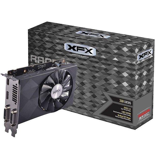 Placa de Vídeo AMD Radeon R7 360 - 2gb DDR5 - 128 Bits XFX R7-360-2NF5
